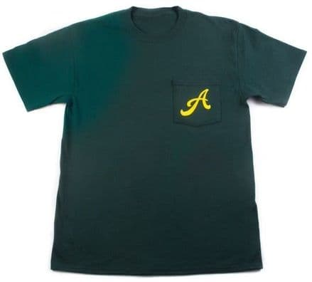 Animal Finest Quality Pocket T Shirt Forest Green XL